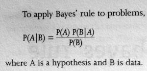 Bayes Rule Use